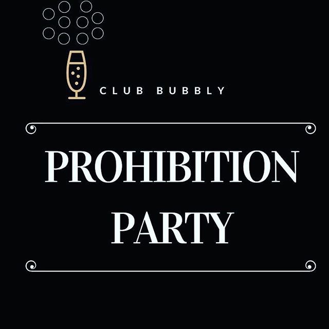 It's time to drink Champagne and dance on the table!  Today is the day to celebrate the historic repeal of one of the biggest bummers of all time: Prohibition. Join our Prohibition Party and celebrate your love for the giggle water with us!  Today, we're offering 20% off Club Bubbly apparel using the code RepealDay (club members get 30% off!), and $20 shipment credit for every member referral that signs up by midnight on 12/11!  Website link in bio  #champagne #prohibitionparty #21stamendment #champagnecampaign