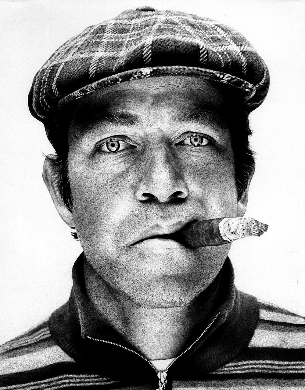 Image of: Portrait Portrait With Pen Artist Paul Kobrigers Hyperrealistic Drawings Havoc Tv Havoc Tv Portrait With Pen Artist Paul Kobrigers Hyperrealistic