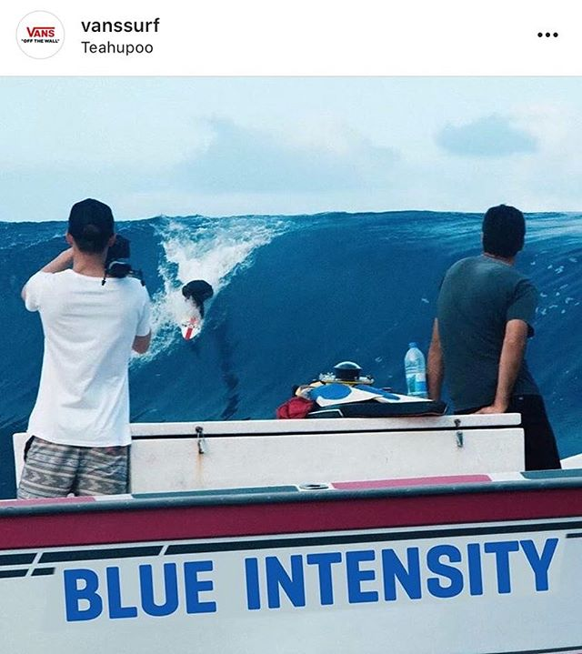 @vanssurf's #BlueIntensity is 🔥