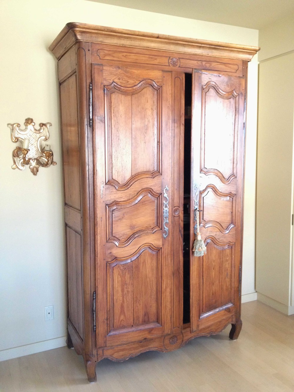 Antique 19th Century, Louis 15th Style French Armoire