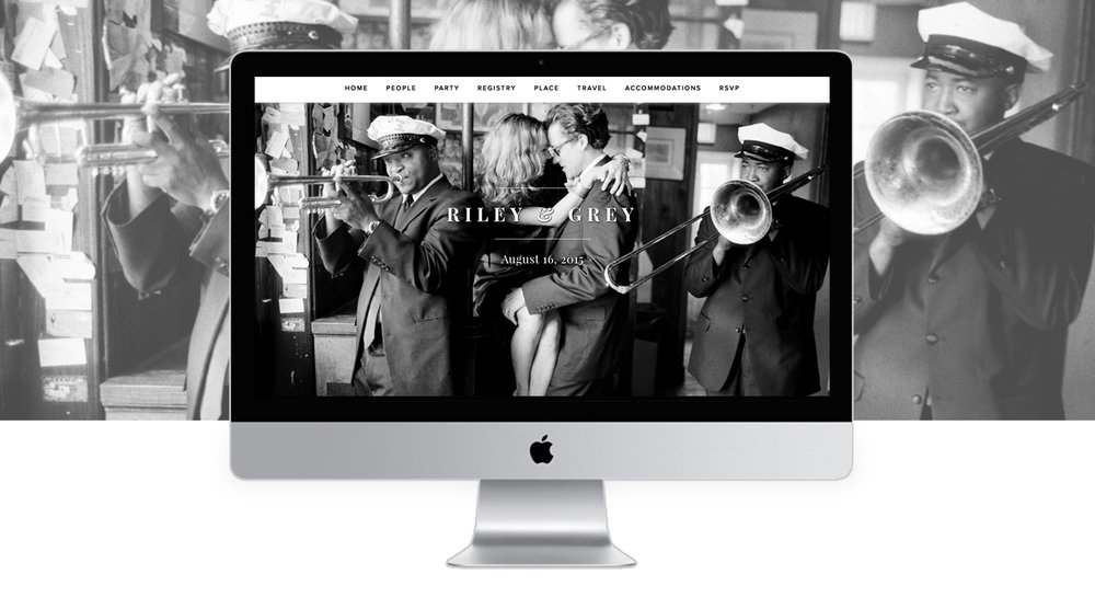 how to create a wedding website your guests will love caroline