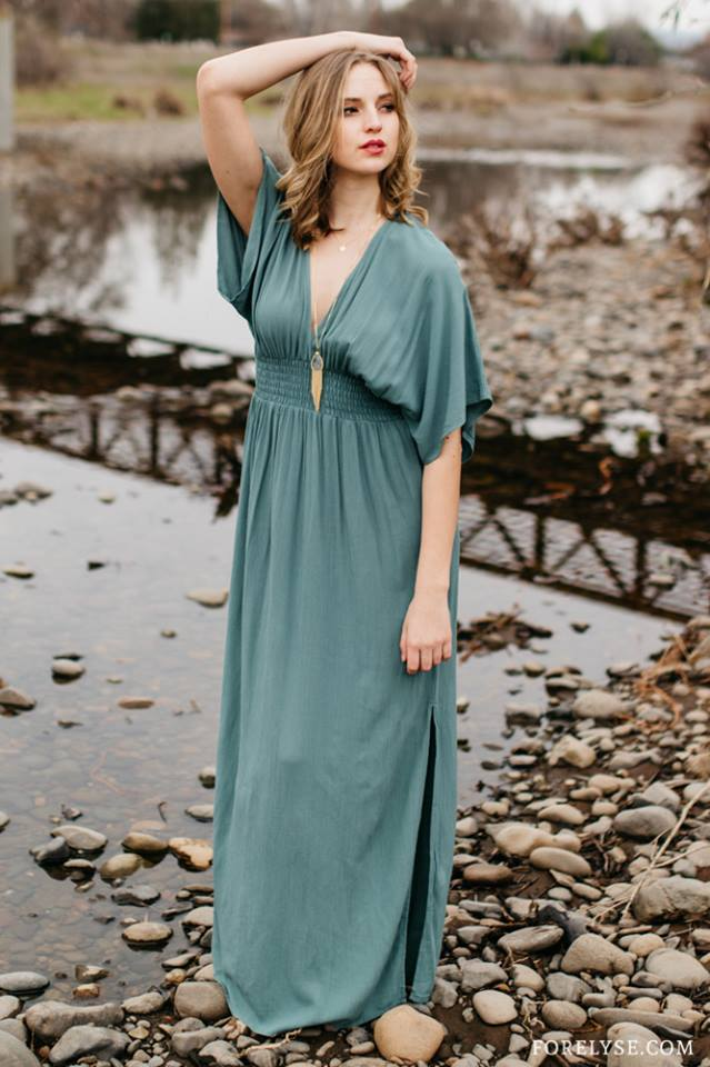 Enchanted By You Maxi Dress ($59.99)