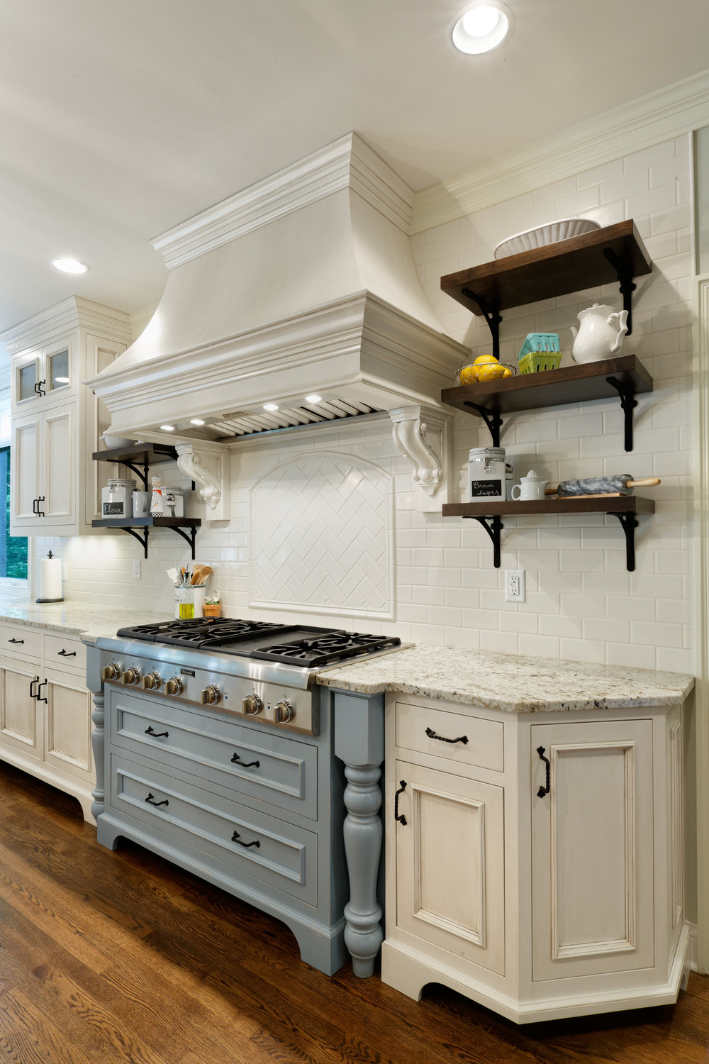 Kitchen Cabinetry and Range Hood