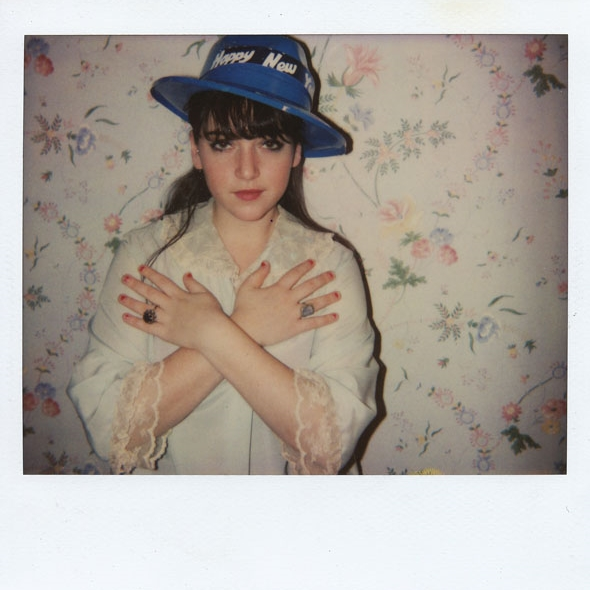 "Emma Bee Bernstein, self-portrait from ""Untitled (Unique Color Polaroids),"" 2003 - 2007. Color Polaroid, 4 × 3.5 inches"