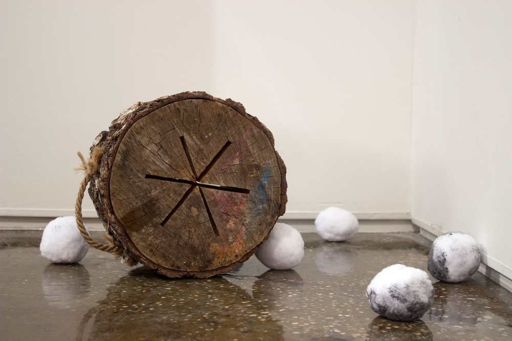 LOOSE , 2016 Installation, dimensions variable