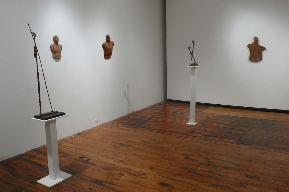 Current Relics , 2007 Solo exhibition. Installation view at A.I.R. Gallery