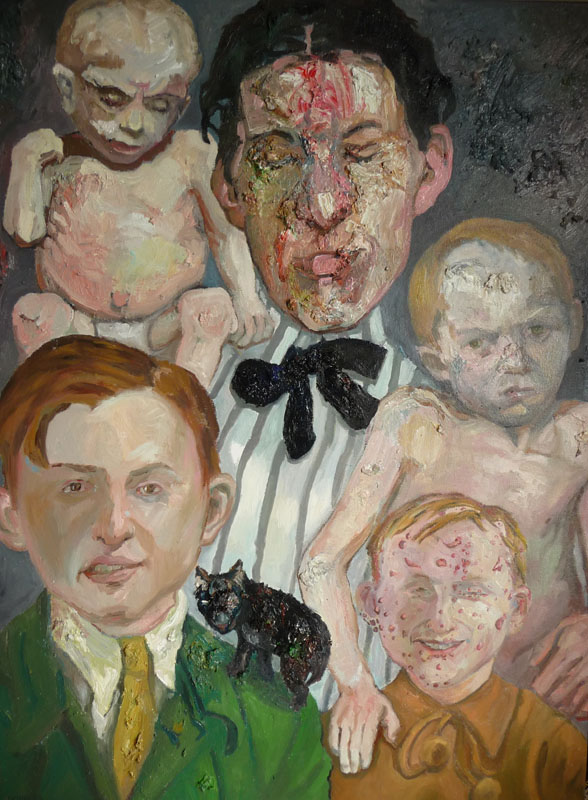 Family Portrait , 2011, Oil on canvas, 40 x 30 inches
