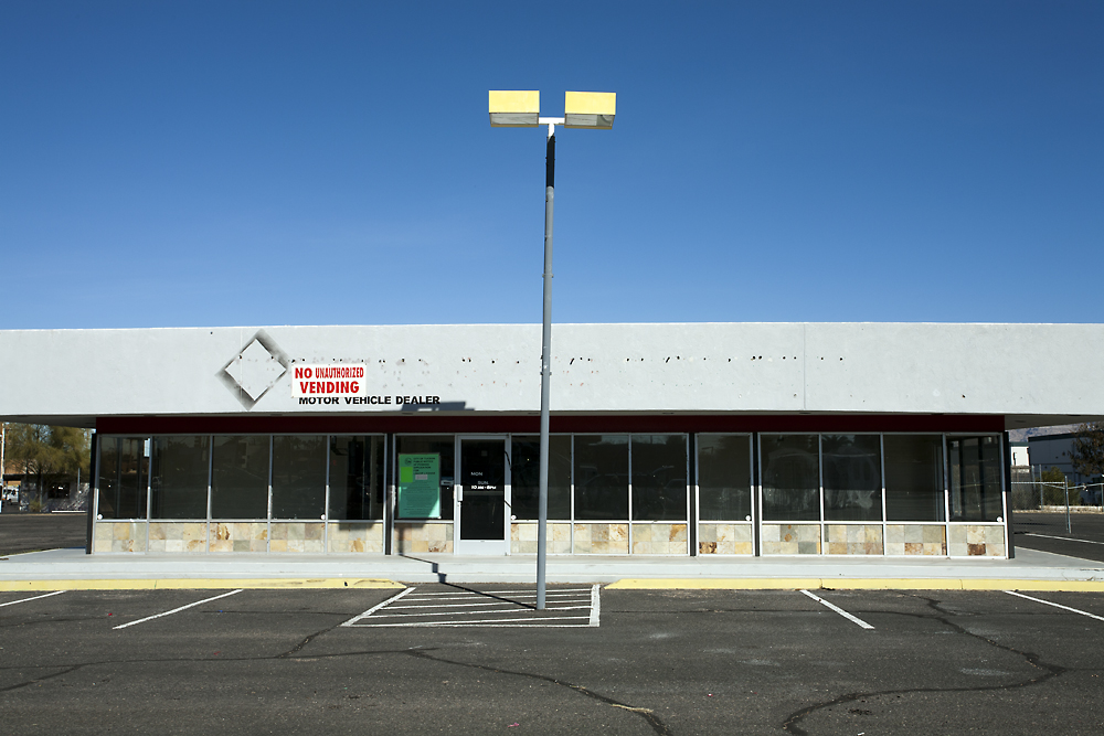 Motor Vehicle Dealer, Tuscon, AZ , 2013, Archival inkjet print, 24 x 34 inches