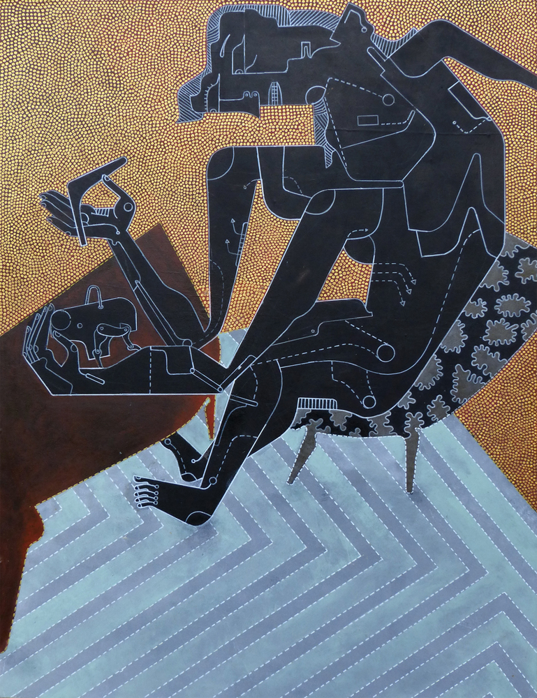 The Toymaker , 2012, Acrylic on panel, 48 x 36 inches