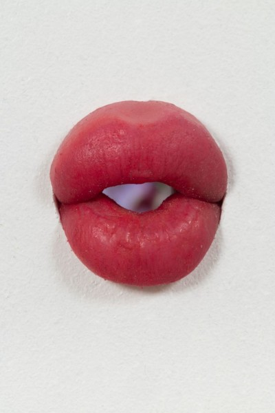Lips (Study #3) , 2016, Single channel video installation, Mixed media, 57 x 76.2 x 91.4 inches