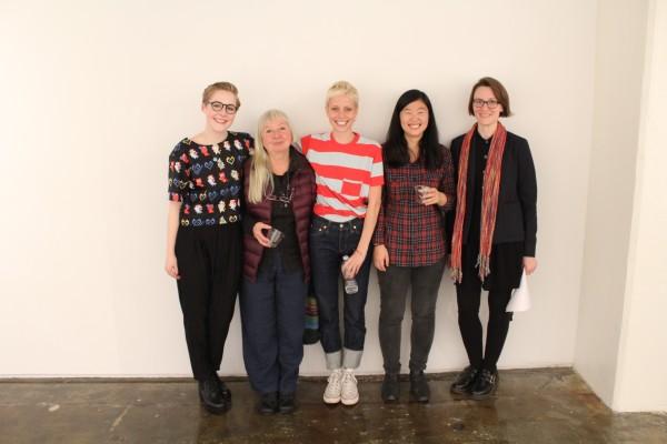 (L to R) Gabriella Shypula, Daria Dorosh, Marie Tomanová, Bang Geul Han,Amelia Marzec