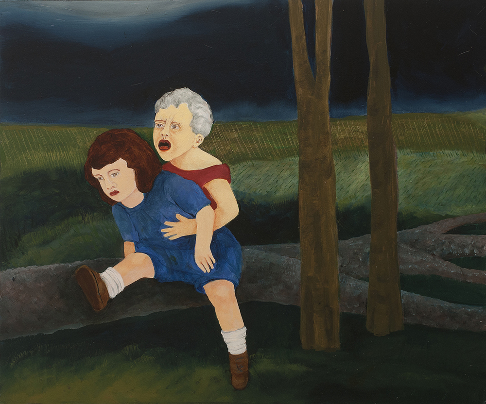Stolen Child #2 , 2014, Oil on board, 20 x 24 inches