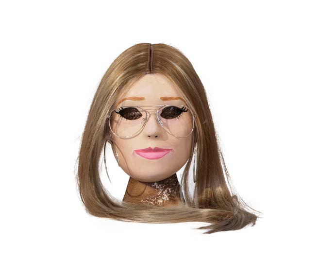 Power Mask, Gloria Steinem , 2015, Mixed media