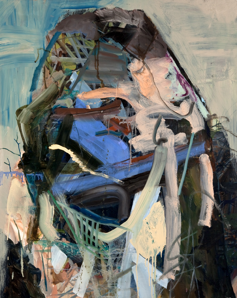 Trick Mirror, 2009, oil on canvas