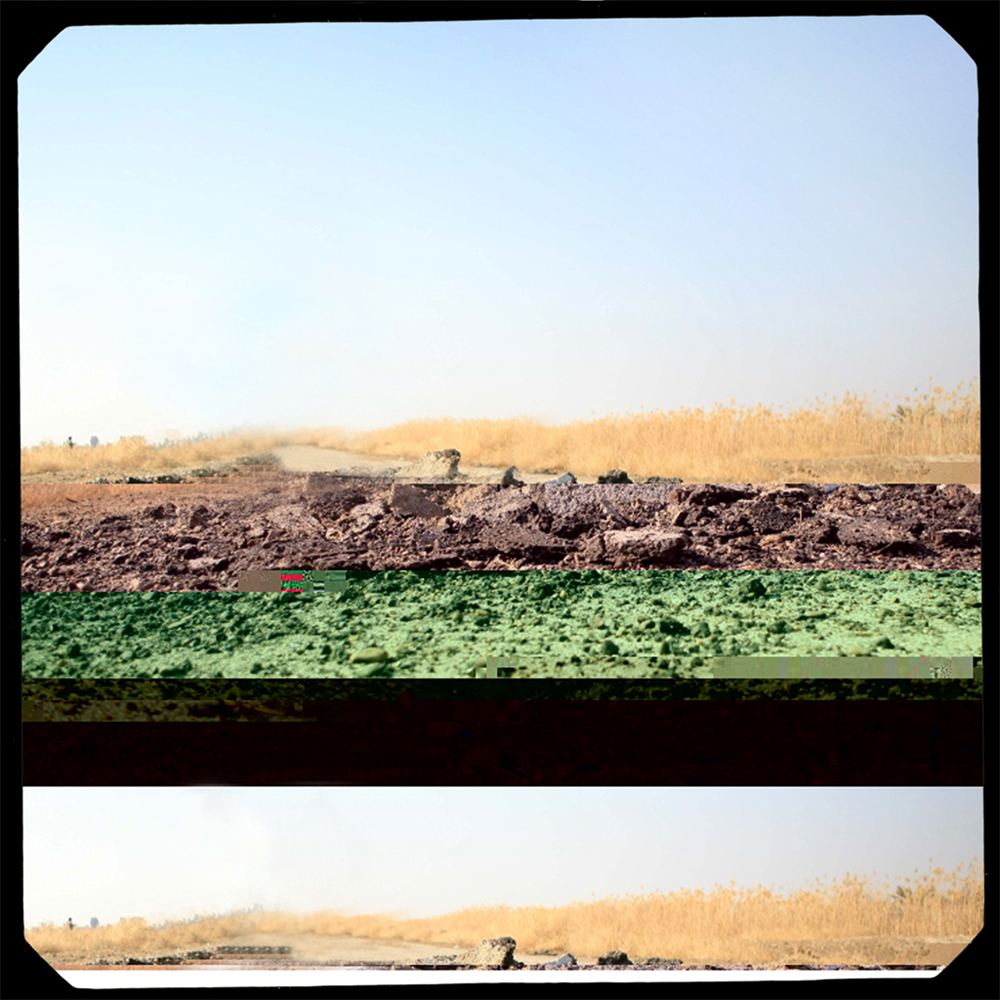 Battlefield 6 (Corrupted File, Iraq),  2012, Inkjet print, 12.5 x 12.5 inches