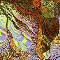 "Maude Boltz,  In The Milk , 2004-14, Archival inkjet print, 15""x15"""