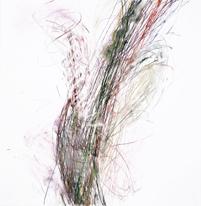 Trill , 2017, Pastel, pastel pencil on Bristol paper, 19 x 19 inches