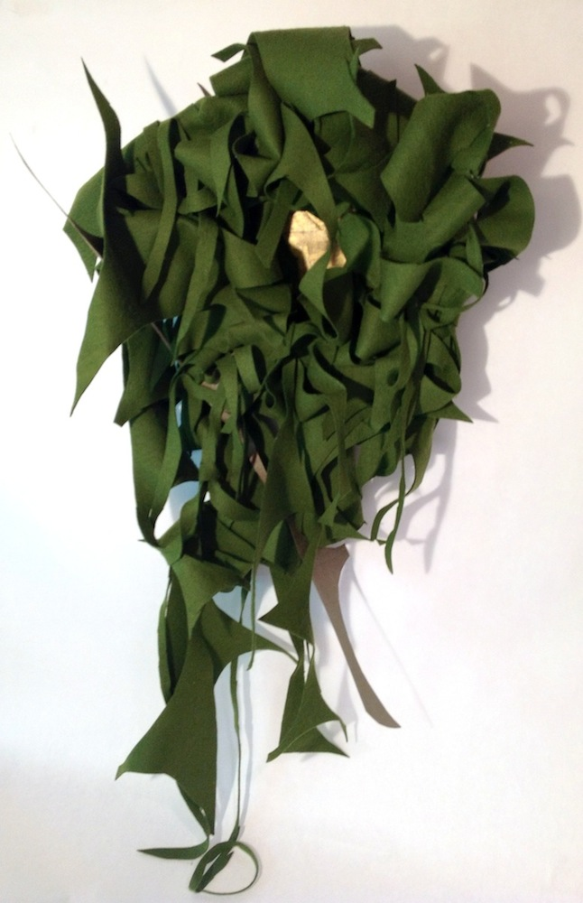 Ends, 2013, Mixed media, 26 x 30 x 6 inches