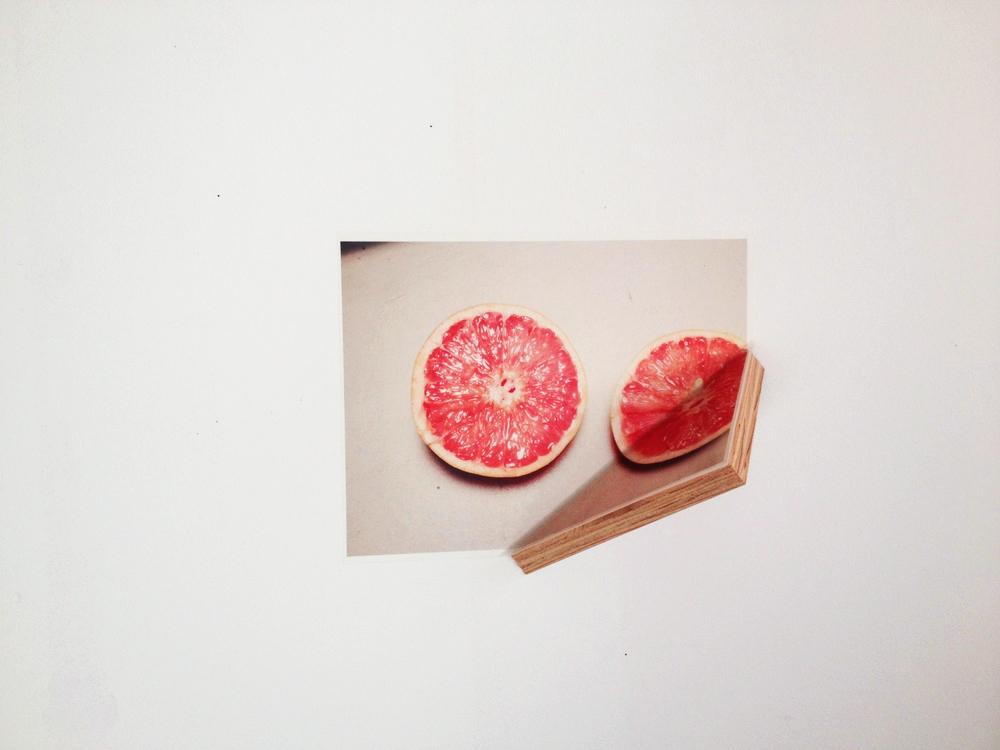 Diet , 2015, Vinyl digital print and plywood, 8''x10''