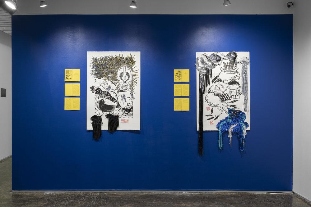 Aya Rodriguez-Izumi, TC-1 installation shot by Sebastian Bach