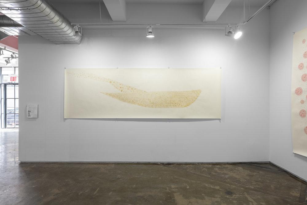 Katsura Okada, Shining Flecks II: Forms of Group, Flock and Swarm installation shot by Sebastian Bach