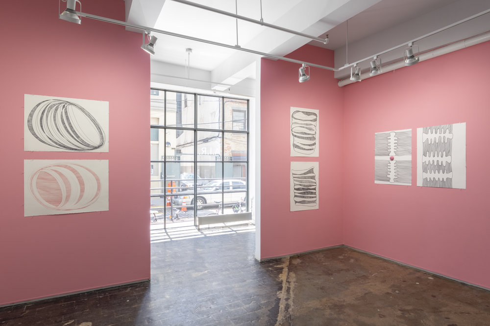 Sylvia Netzer, Virtebrae installation shot by Sebastian Bach