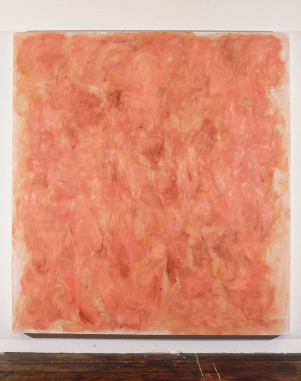 "Flesh Series 7 , 1994  80x72""  Oil on linen"