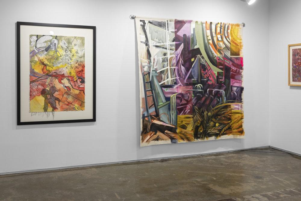 Works by Elyse Gambino installation shot