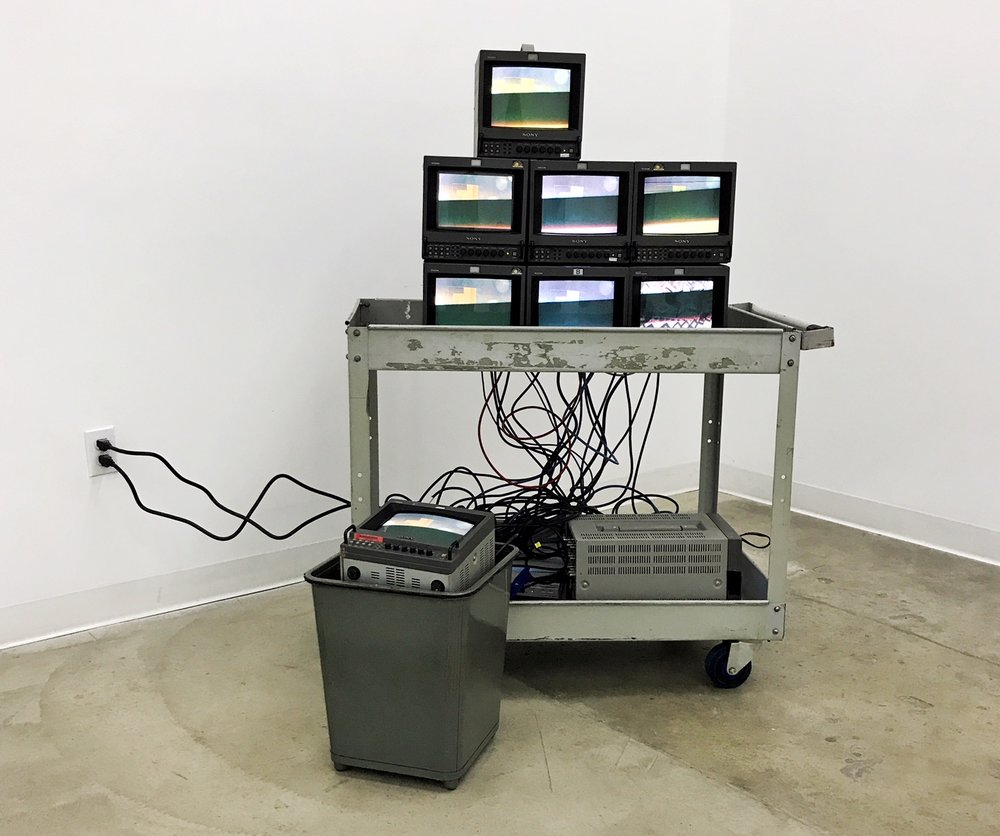 New Cycle , Video installation, 4 x 5 x 4 feet, 2017