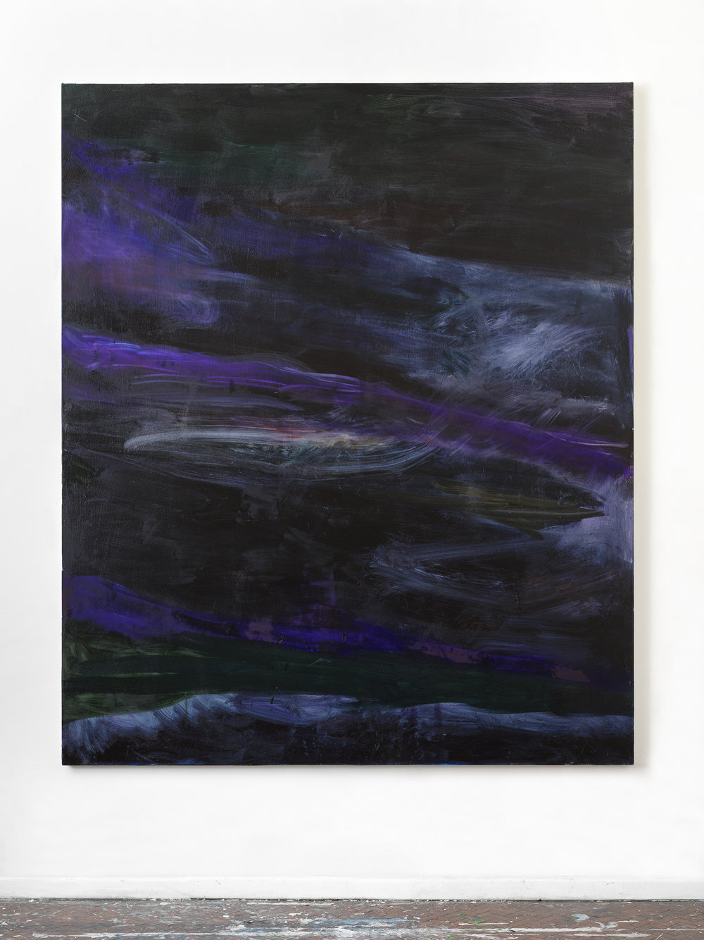 Untitled #Bb , 2018 73 x 61 inches, Oil on canvas