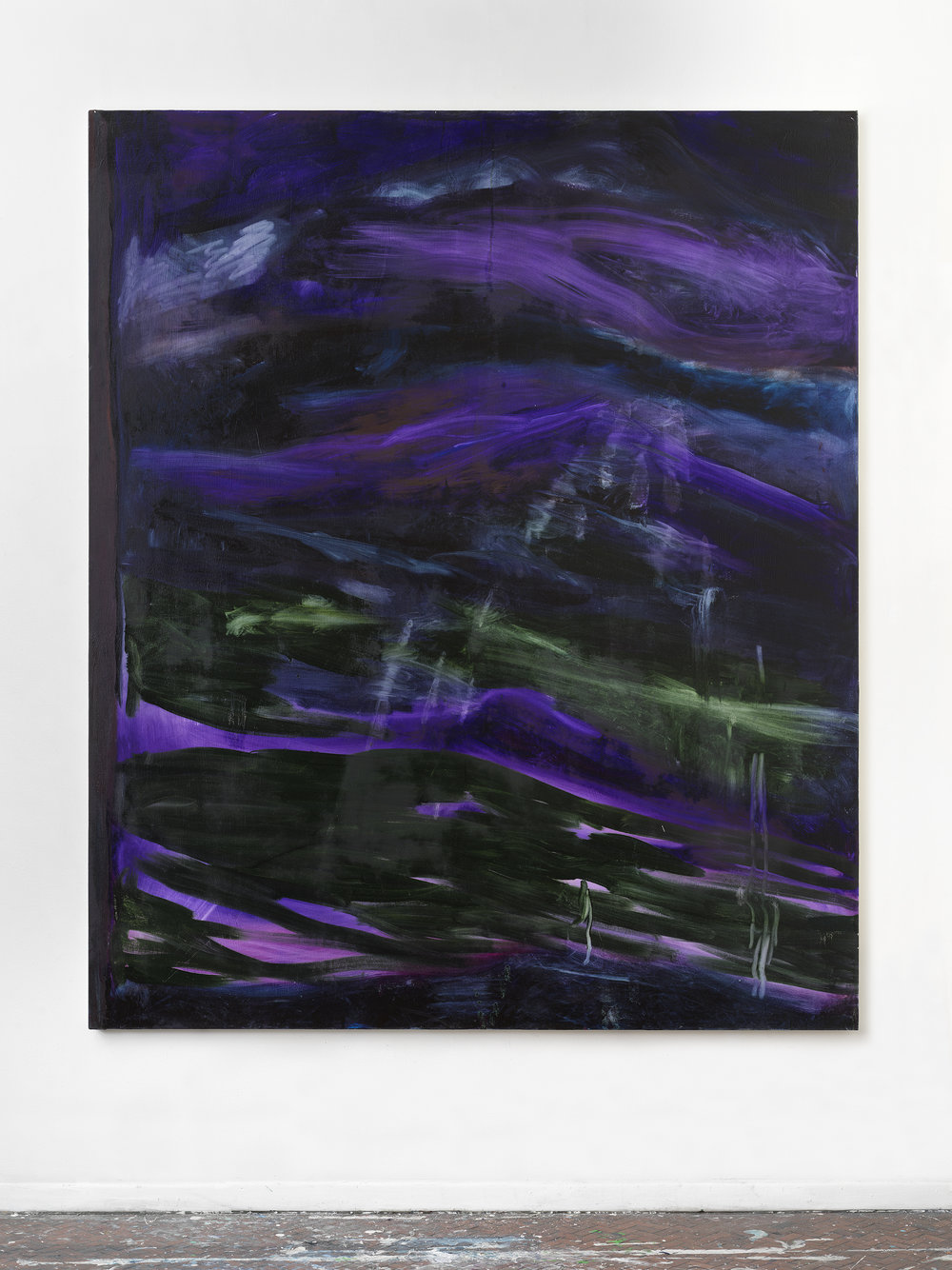 Untitled #Aa , 2018 73 x 61 inches, Oil on canvas
