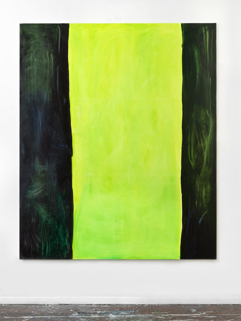 Jinx , 2018 73 x 61 inches, Oil on canvas