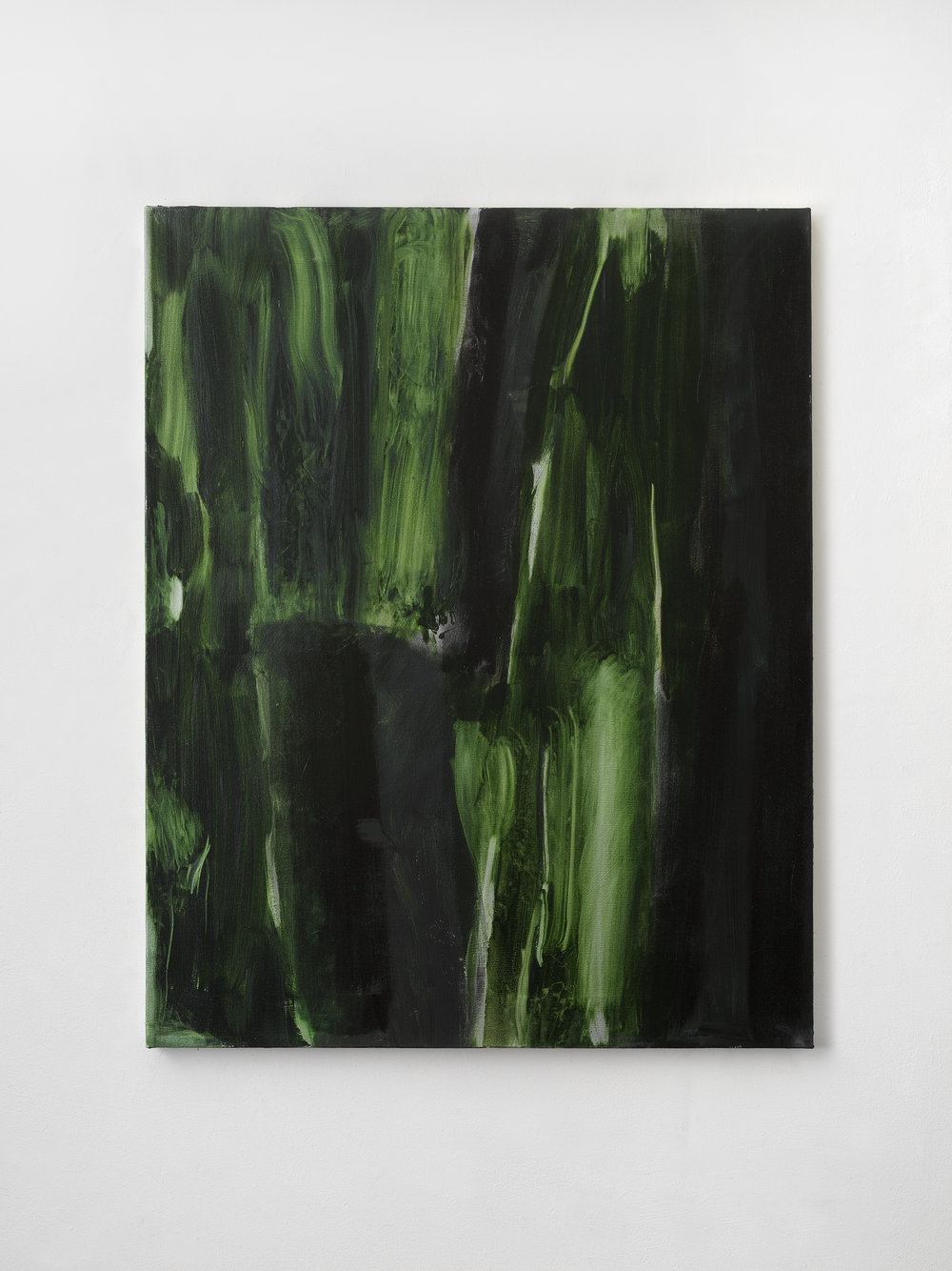 Green Screen #4 , 2018 43 x 34 inches, Oil on canvas