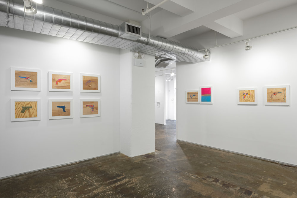 Installation view of  Every 16 Hours