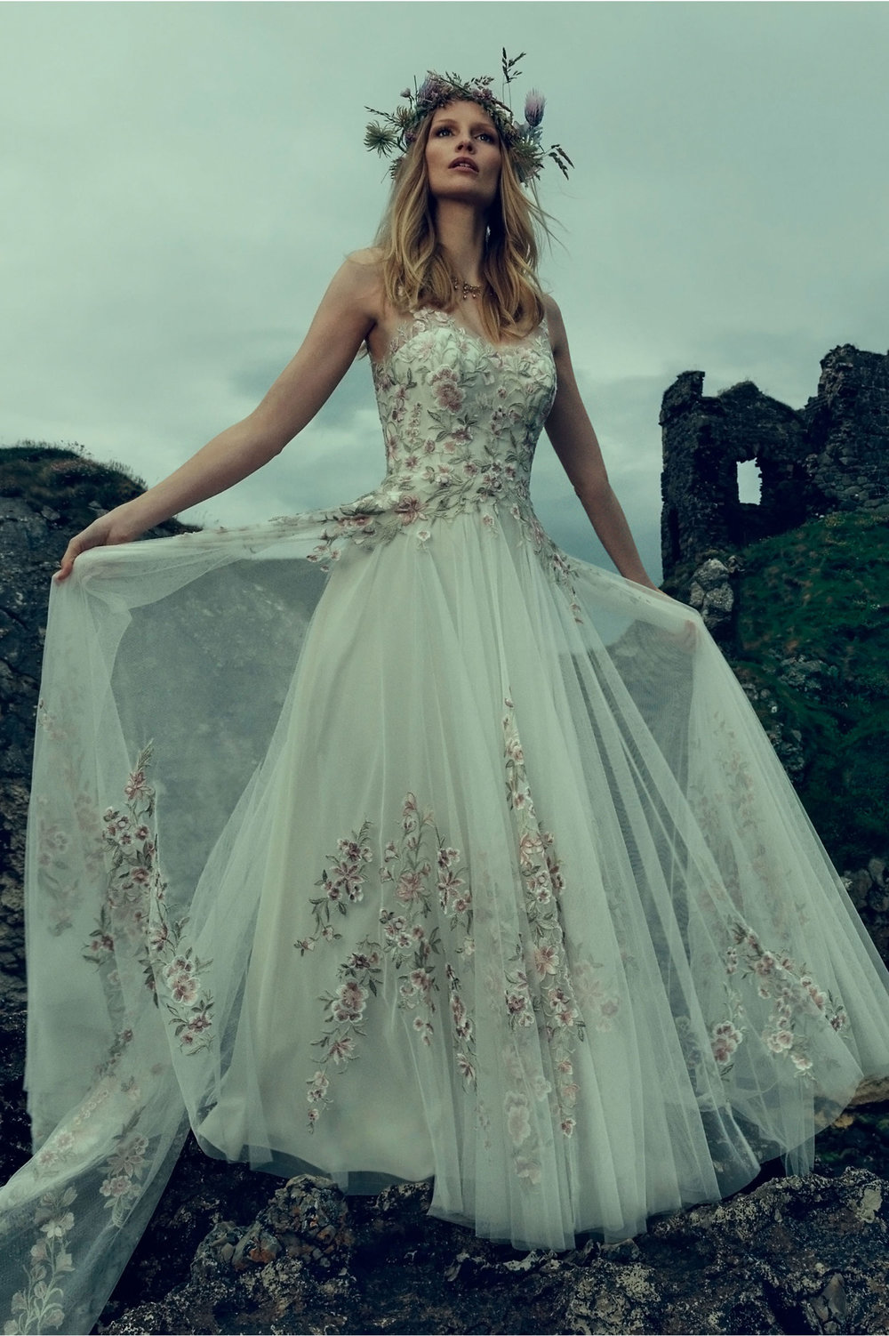 10 Floral Wedding Dresses For The Unique Pensacola Bride