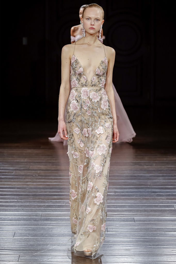 Naeem Khan floral wedding dress kyoto for pensacola bride