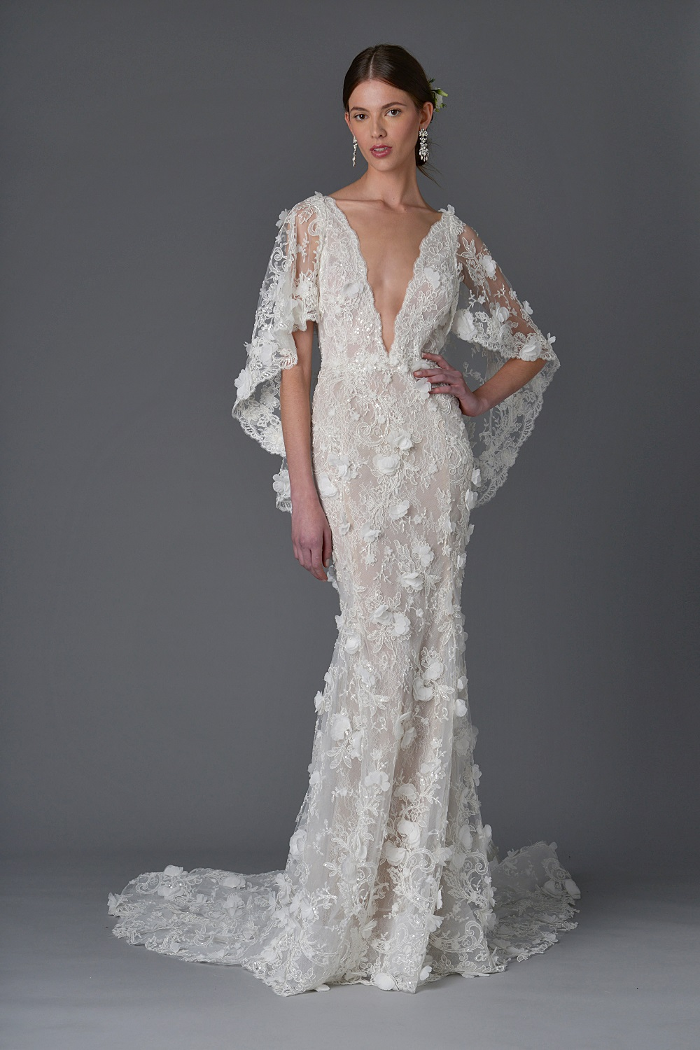 marchesa floral wedding dress in pensacola