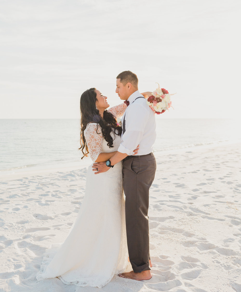 opal beach in pensacola wedding