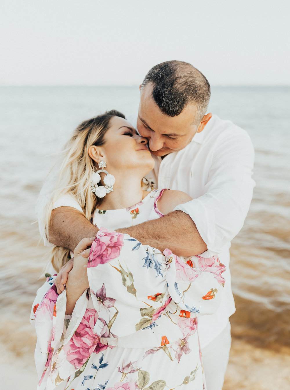 naval live oaks engagement session