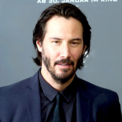 "KEANU REEVES      ""I do movie kung fu.  The thing about Bruce Lee was he did real kung fu.  He was the real deal."""
