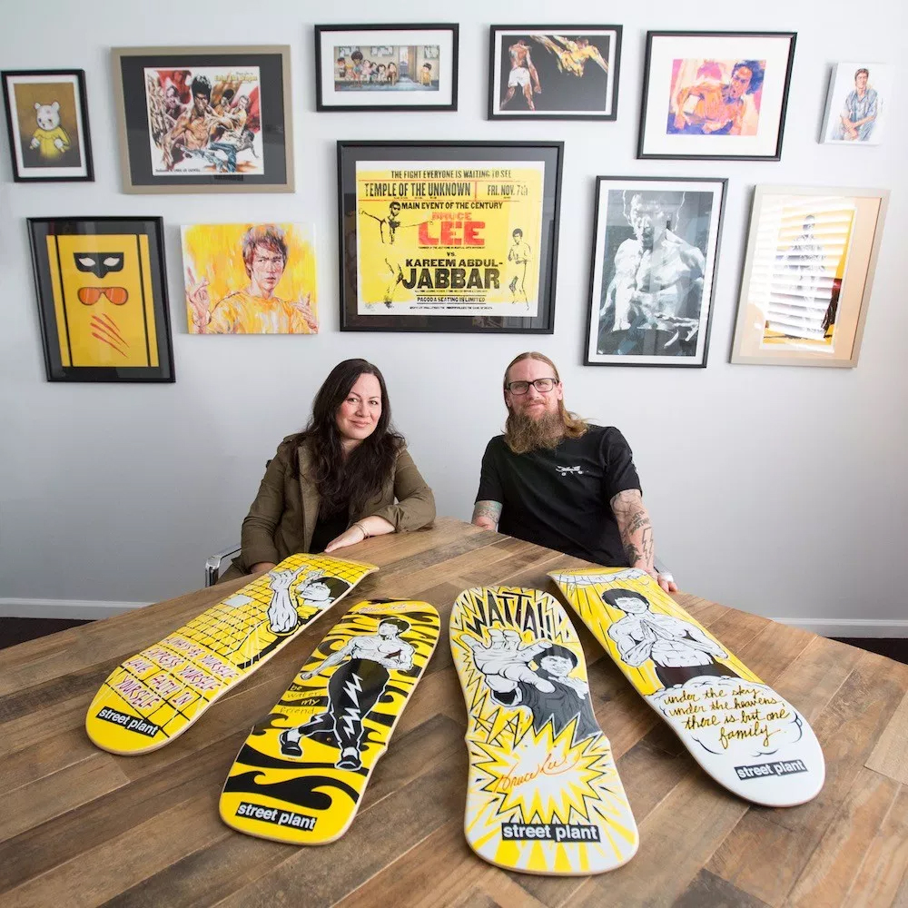 Bruce Lee Skateboards - Street Plant x Bruce Lee