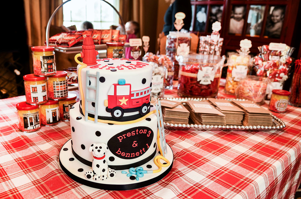 Fire Truck Birthday Party Pbgrey