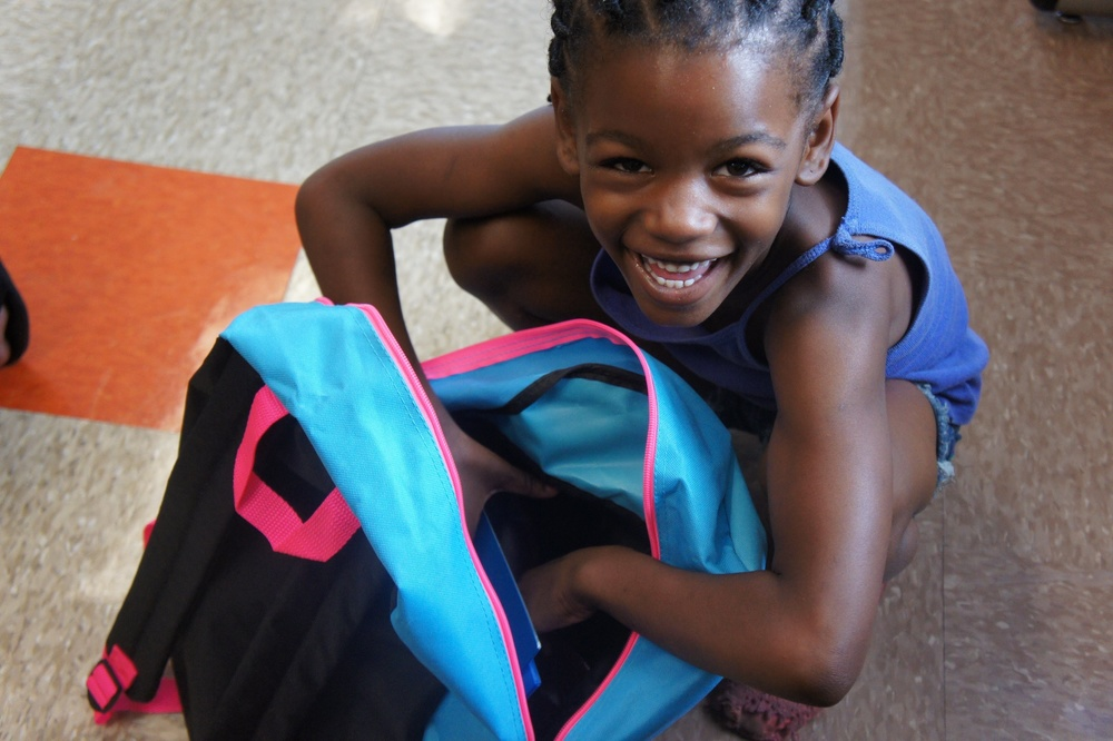 McKinley Gardens Back-to-School Drive
