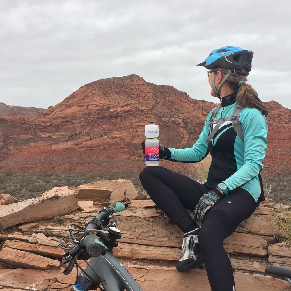 Red Cliffs, Utah. Don't leave without your Duggan!