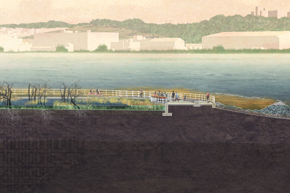 I  ntended to mature through time's decay, construction and maintenance of the memorial is an affordable option for East Potomac Park's already flooding tip.