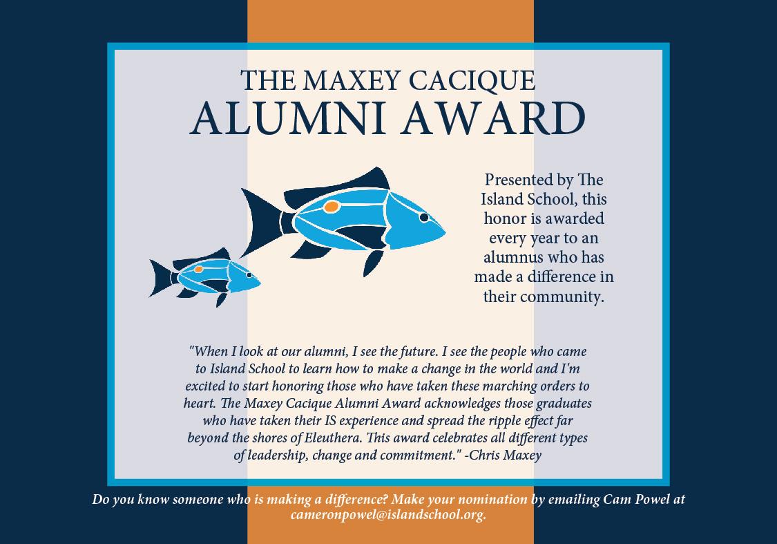 MaxeyCacique Alumni Award