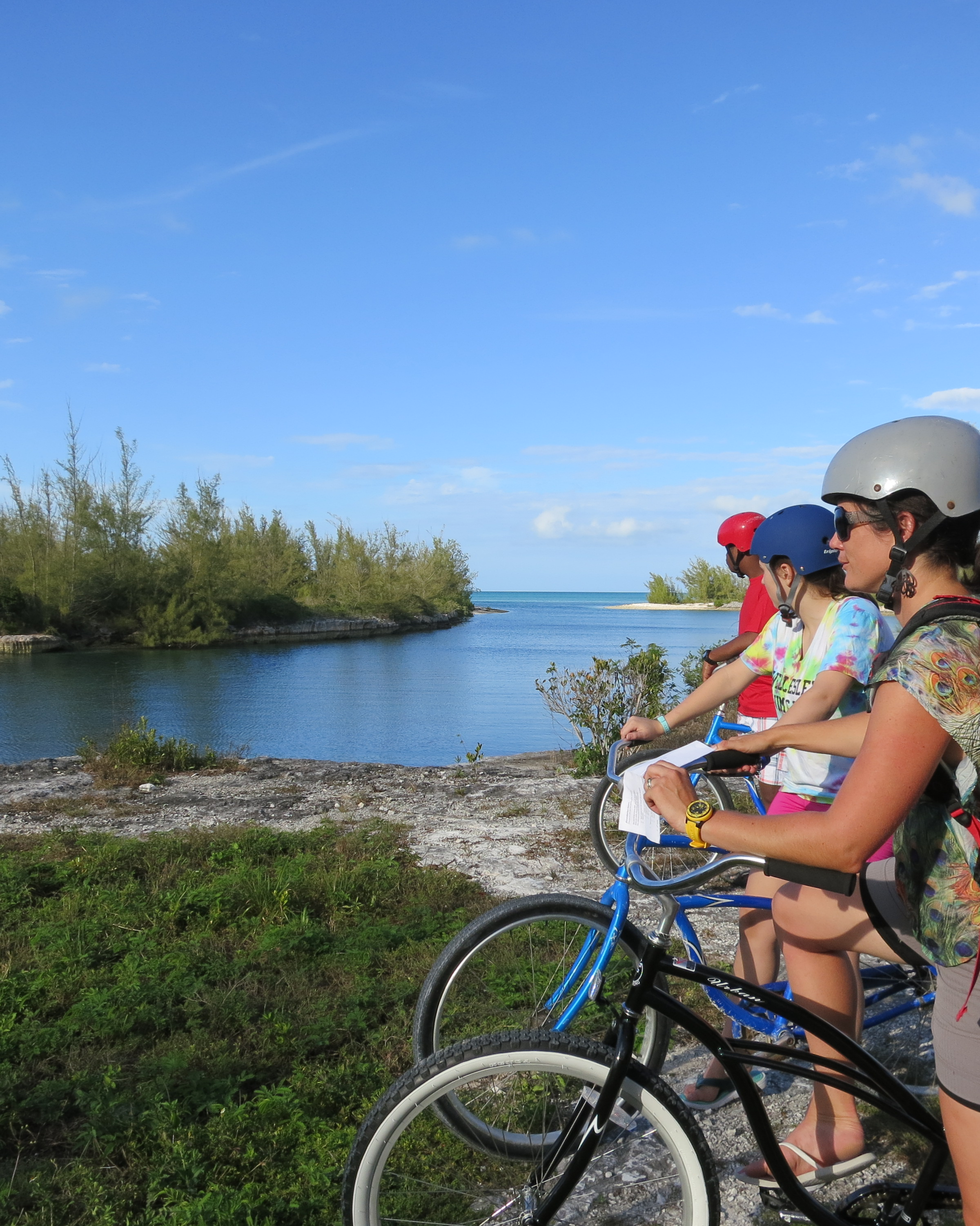 Yesterday we toured Cape Eleuthera on our bikes with our advisory groups.