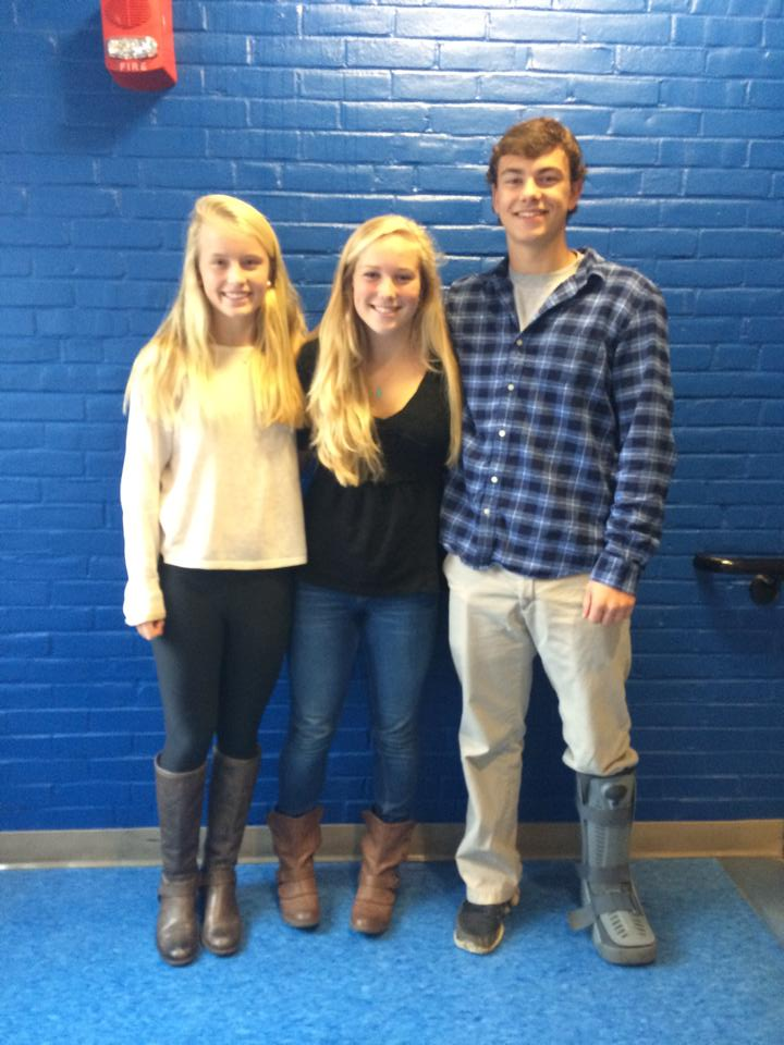 Amelia (Su'14), Elsa (F'13) and Sam (F'12) are doing a great job serving as admissions ambassadors at Hanover High School!
