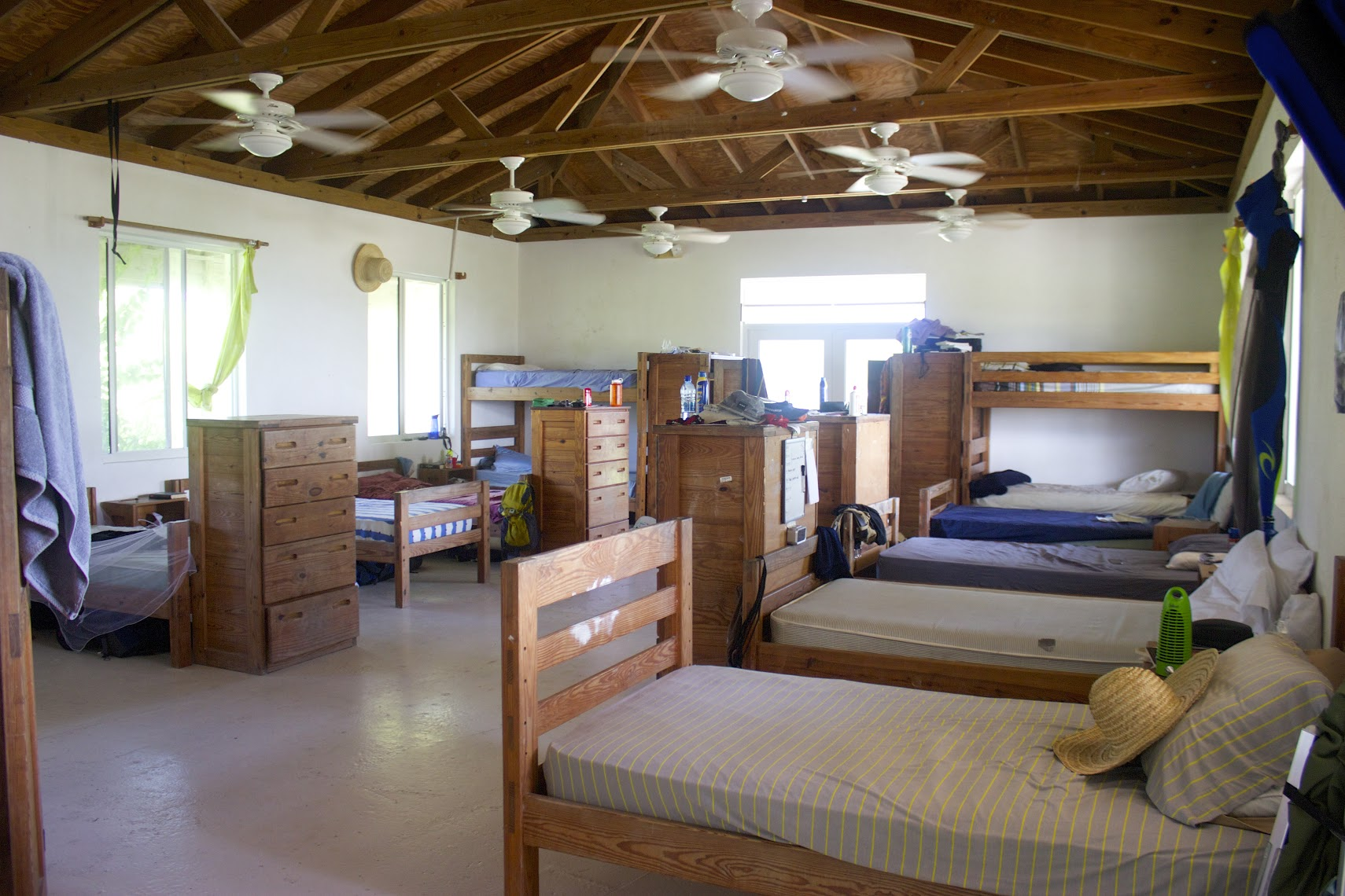View of boys dorm wing.
