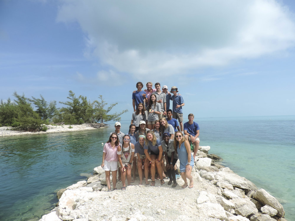 During this class, students leave for a four-day down island trip. On this trip, they interview locals and tourists about their opinions of tourism. They also participate in a 24-hour solo, meaning they live by themselves in an excluded area of the beach for one day. During this time, they are expected to journal and reflect on their time as an Island School student and set goals for themselves that will help them benefit their wider community.